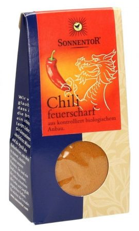 Sonnentor chili extra erős őrölt - Cayenne-bors - bio 40 g
