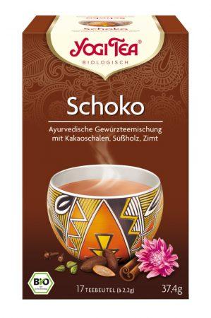 Yogi csokoládé tea bio 17 x 2,2 g
