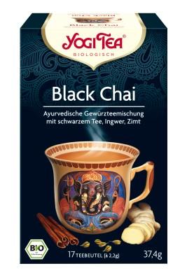 Yogi fekete chai tea bio 17 x 2.2 g