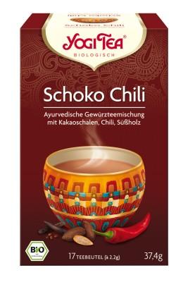 Yogi csokoládé chili tea bio 17 x 2,2 g