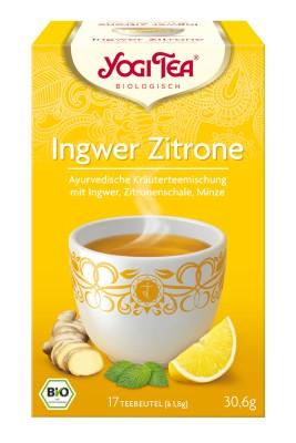 Yogi citromos gyömbér tea bio 17 x 1,8 g