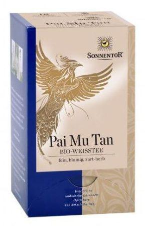 Sonnentor Pai Mu Tan fehér tea filteres bio 18 g