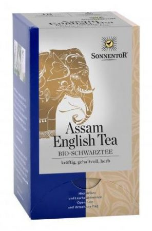 Sonnentor assam english filteres tea bio 36 g