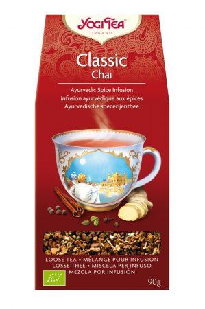Yogi klasszikus chai tea szálas 90 g