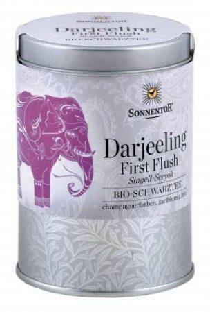 Sonnentor Darjeeling 1st Flush PREMIUM fekete tea bio 65 g