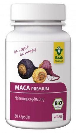 Raab maca kapszula bio 80 db 500 mg 40 g