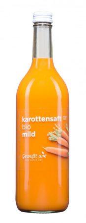 Sárgarépa lé ,,Gewußt wie'' – bio - tejsavval erjesztett-750 ml