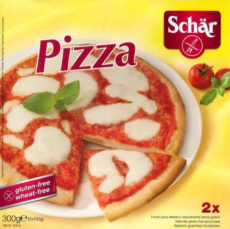 SCHÄR pizzatészta, gluténmentes, tojásmentes, szójamentes, 300g