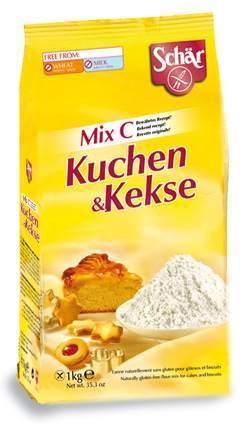 Schär Mix C gluténmentes lisztkeverék süteményekhez 1000g