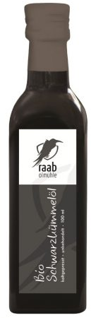 Raab feketekömény-olaj bio hidegen sajtolt 250 ml