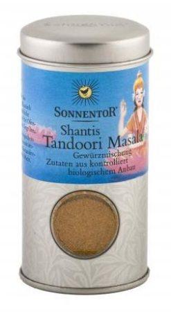 Sonnentor Shanti Tandoori Masala őrölt fűszerkeverék szóróban bio 32 g