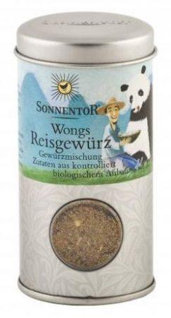 Sonnentor Wong rizsfűszere szóróban bio 40 g