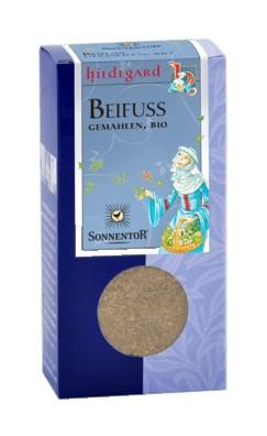 Sonnentor őrölt fekete üröm (Artemisia vulgaris) Hildegard bio 25 g
