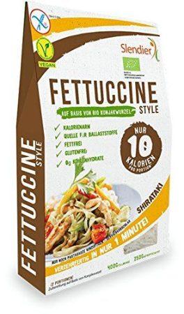 Shirataki fettuccine bio nettó 400 g / töltő 250 g