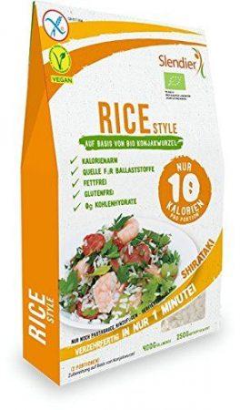 """Shirataki """"rizstészta"""" bio nettó 400 g / töltő 250 g"""