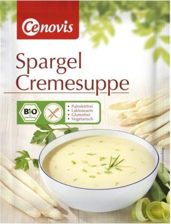 Cenovis gluténmentes laktózszegény spárga krémleves bio 63 g
