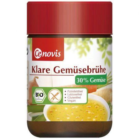 Cenovis zöldségleves-por glutémentes laktózmentes 30% zöldséggel bio 100 g