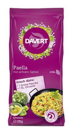 Davert paella sáfránnyal bio 170 g
