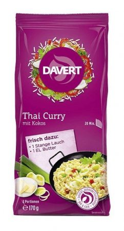 Davert Thai curry bio 170 g