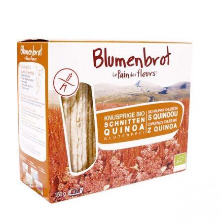 Blumenbrot quinoás gluténmentes bio 150 g