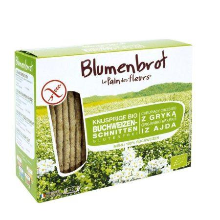 Blumenbrot hajdinás gluténmentes sózott bio 150 g