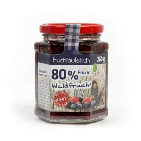 Sukrin erdei gyümölcs lekvár hozzáadott cukor nélkül 260 g
