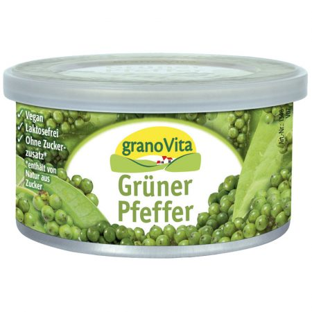 Granovita zöld borsos vegetáriánus pástétom bio 125 g