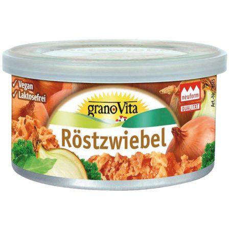 Granovita pirított hagymás vegetáriánus pástétom bio 125 g