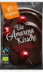 Landgarten amarena cseresznye étcsokoládéba mártva gluténmentes bio 50 g