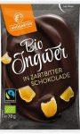 Landgarten gyömbér étcsokoládéba mártva gluténmentes bio 50 g