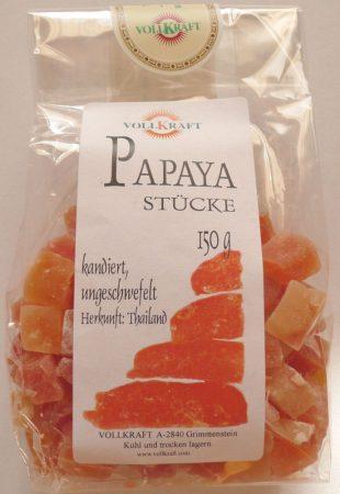 Papaya darabkák 150 g
