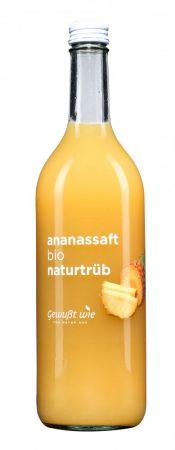 Ananászlé ,,Gewusst wie'' - bio - hozzáadott cukor nélkül - 750 ml