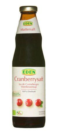 Eden tőzegáfonyalé bio 750 ml