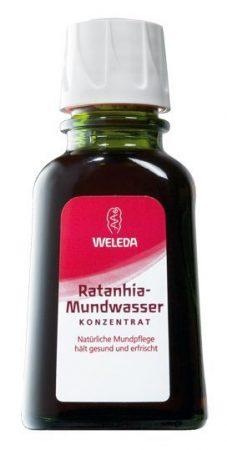 Weleda Ratanhia szájvíz koncentrátum 50 ml