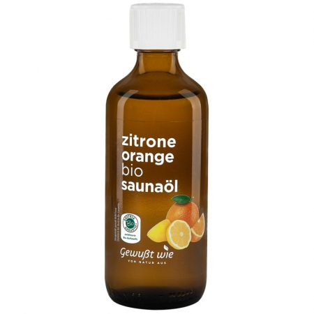 Citrom-narancs bio szaunaolaj 100 ml