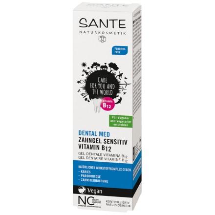Sante Dental Med fluormentes fogkrém B12 vitaminnal 75 ml