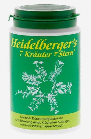 """Heidelberger """" 7 gyógyfű-csillag"""" 100 g"""