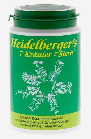 """Heidelberger """" 7 gyógyfű-csillag"""" 250 g"""
