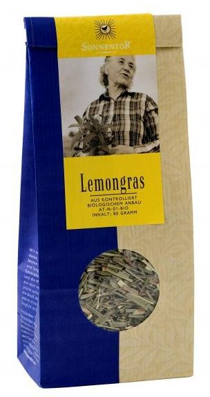 Sonnentor citromfű tea bio 80 g